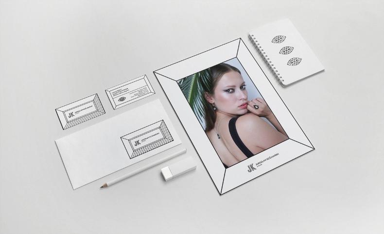 Identyfikacja wizualna dla firmy JK Jewellery