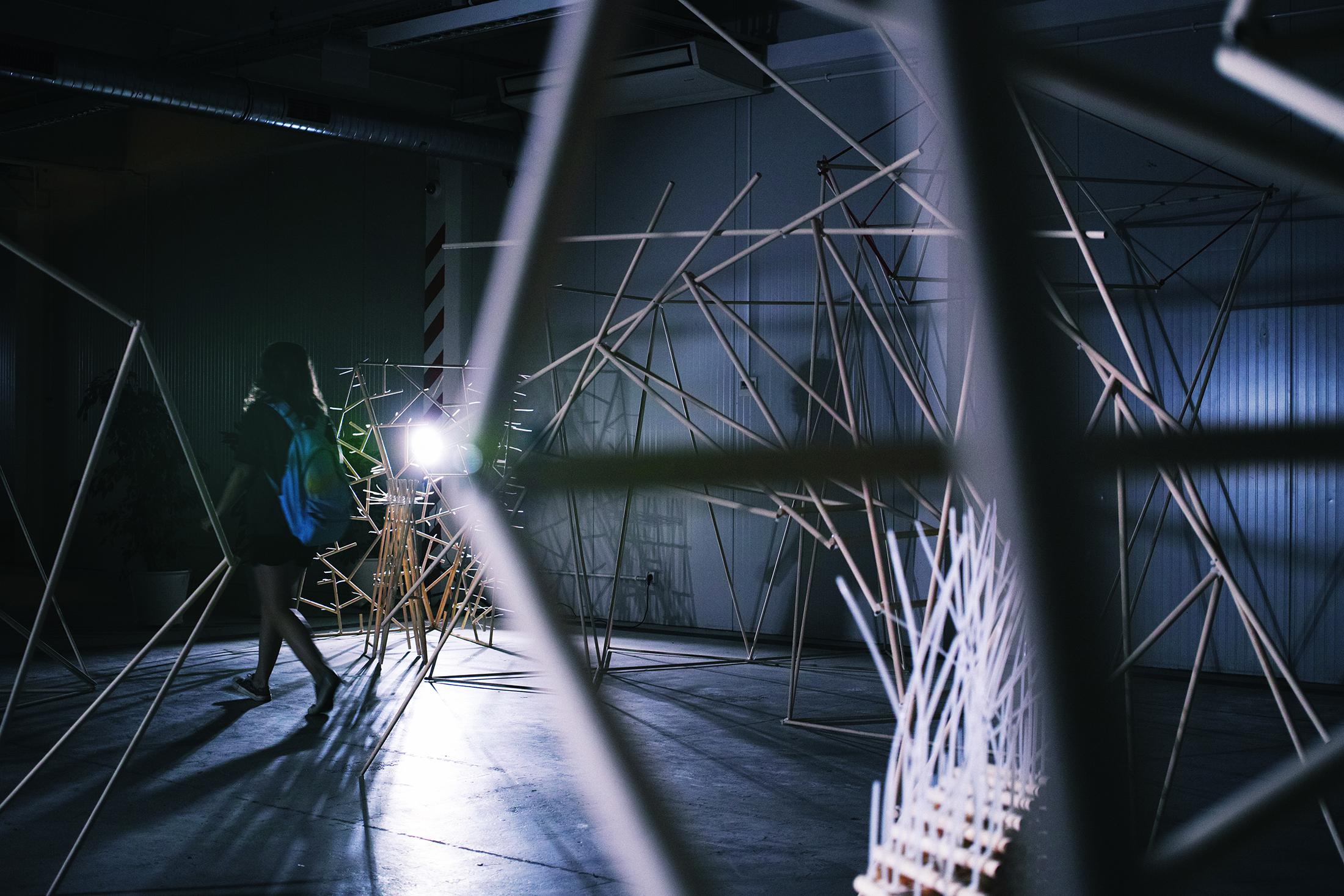 Wystawa projektów końcoworocznych w SOF
