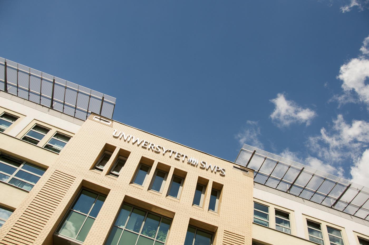 Zajęcia online w Uniwersytecie SWPS