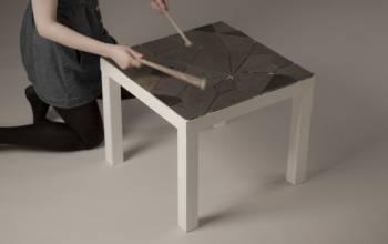 Dodatkowa funkcja stolika Lack (IKEA)