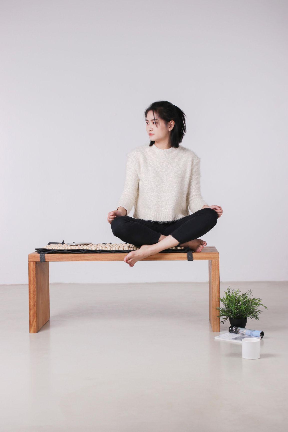 Nowa forma tradycyjnej medycyny chińskiej - ławka do masażu
